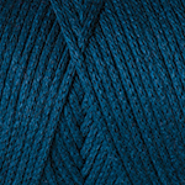 MACRAME COTTON petrolejová 789